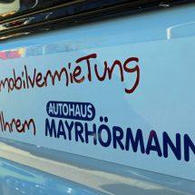Wohnmobilvermietung Augsburg - Wohnmobil Roadcar R 600